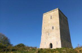 Laois Scaffolding, Tullaun Castle Restoration