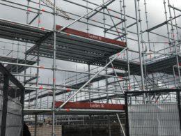 Laois Scaffolding, Cairn Homes Adamstown