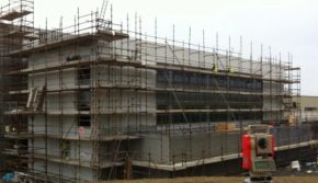 Laois Scaffolding at Waterford IT